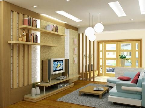 14 ý tưởng thiết kế và trang trí cho phòng khách nhỏ
